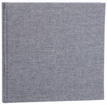 Focus Base Line Canvas Grau 26x25 cm (80 weiße Seiten / 40 Blatt)