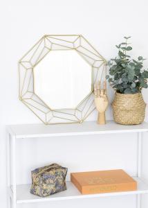 KAILA KAILA Spiegel Abstract - Gold 50x50 cm