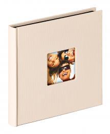 Walther Fun Album Sand - 18x18 cm (30 schwarze Seiten / 15 Blatt)