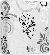 ZEP Umbria Weiß - 31x32 cm (50 weiße Seiten / 25 Blatt)