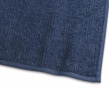 Borganäs of Sweden Handtuch Stripe Frottee - Marineblau 50x70 cm