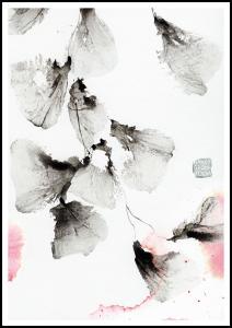 Bildverkstad Pink ink - Green isle studio Poster