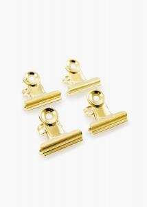 KAILA KAILA Poster Clip Gold 40 mm - 4-p