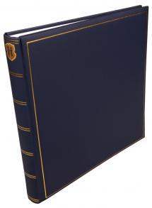 Henzo Henzo Champagne Blau - 35x35 cm (70 Weiße Seiten / 35 Blatt)