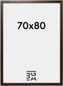 Galleri 1 Brown Wood 70x80 cm