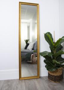 Artlink Spiegel Alice Gold 35x150 cm