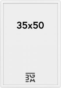 Galleri 1 Edsbyn Weiß 35x50 cm