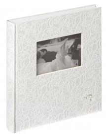 Walther Music Album - 28x30,5 cm (60 weiße Seiten / 30 Blatt)