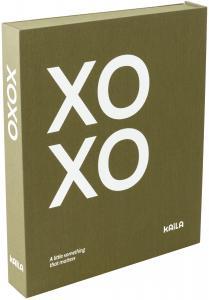 KAILA KAILA XOXO Olive - Coffee Table Photo Album (60 Schwarze Seiten)