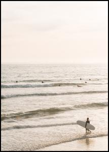 Bildverkstad Surfers Beach Poster