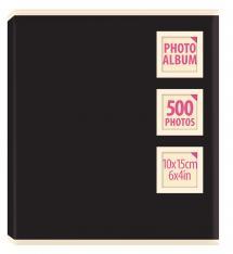 Innova Collection Album Schwarz - 500 Bilder 10x15 cm