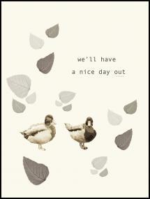 Bildverkstad Nice day out Poster