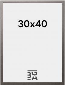 Galleri 1 Edsbyn Graphitgrau 30x40 cm