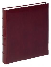 Walther Walther Fotoalbum Classic Rot - 29x32 cm (60 weiße Seiten / 30 Blatt)