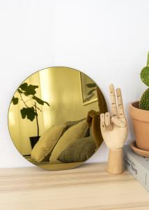 KAILA KAILA Runder Spiegel Gold 30 cm Ø