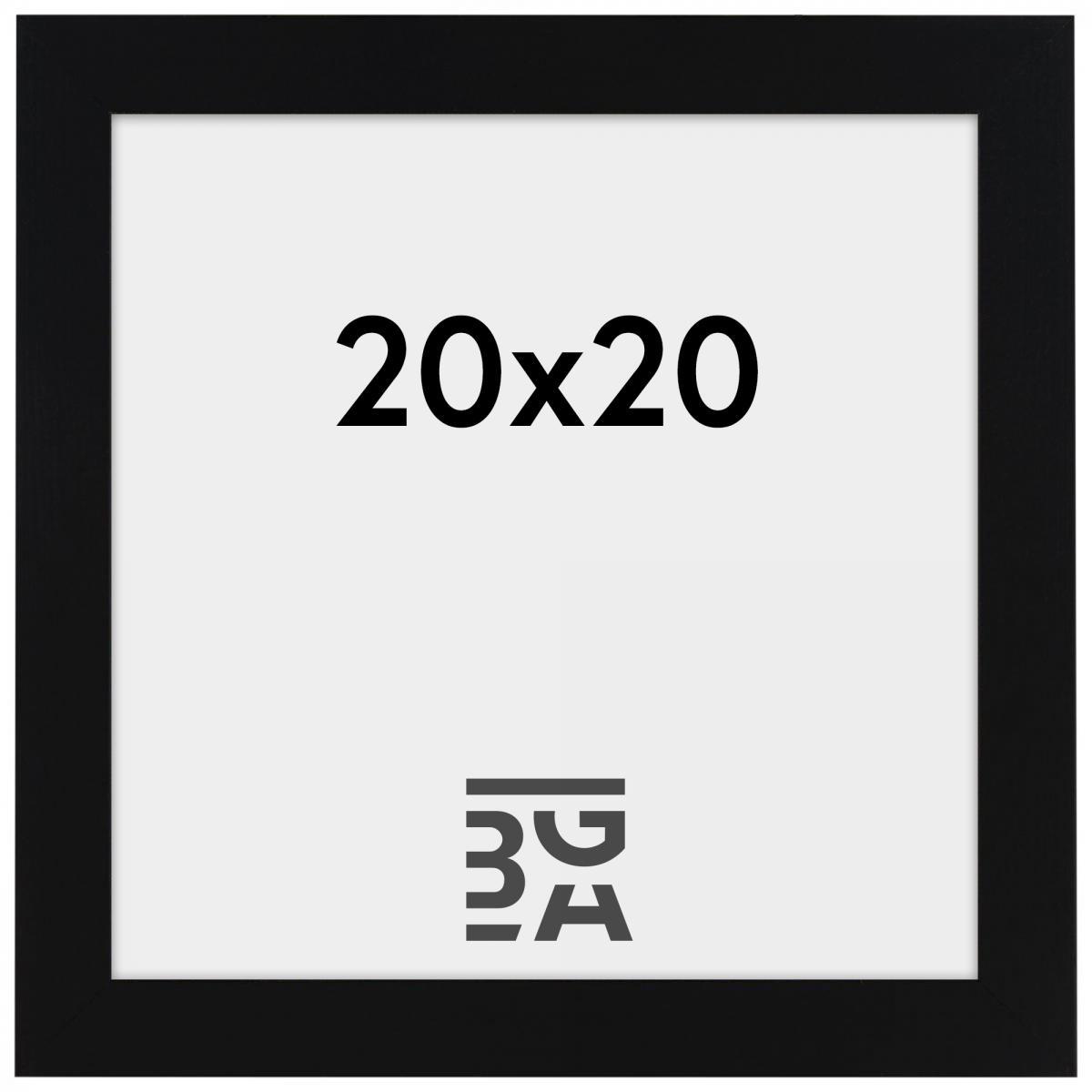 Rahmen Amanda Box Schwarz 20x20 cm