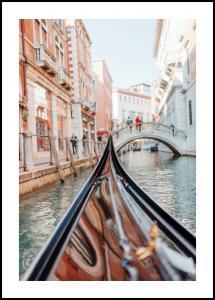 Bildverkstad Gondola in Venice