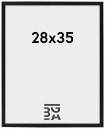 Edsbyn Schwarz 28x35 cm