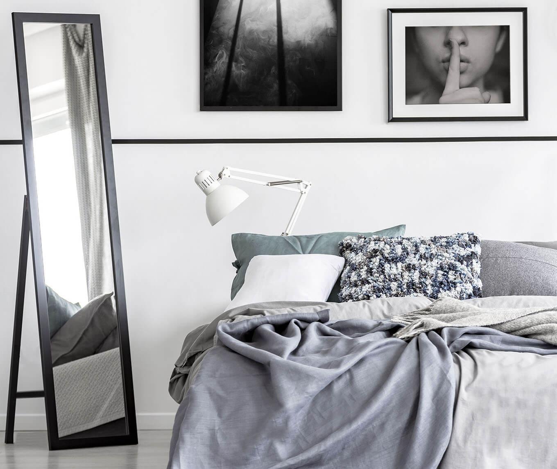 Der Standspiegel – so praktisch, so elegant   BGASTORE.DE